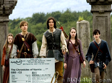 Where can chronicles of narnia fuck